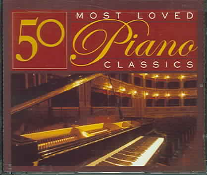 50 MOST LOVED PIANO CLASSICS (CD)